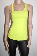 NOW Designer Lime Racer Back Tank Top Size 10 BNWT #TG47
