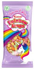 Swizzels *Unicorn Edition* Mega Rainbow Drops 80g x 8 - Party Bags Girls Sweets