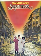 SUPERMAX world of today GERMAN 1977 EX ;[