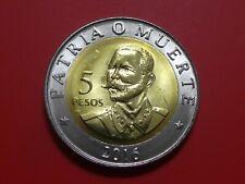5 Pesos 2016 Antonio Maceo UNC