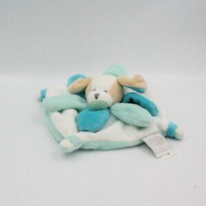 Doudou et compagnie chien plat collector blanc bleu pétales - Chien, Loup, Renar