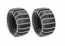 PAIR 2 Link TIRE CHAINS 18x9.50x8 for Kubota Lawn Mower Garden Tractor Rider