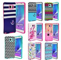 Bumper TPU Shockproof Hybrid Protective Case Cover For Samsung Galaxy Note 5