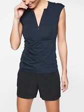Athleta Pacifica Wrap Front Tank, Navy SIZE XLT XL T               #292934 N0811