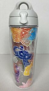 Tervis 24oz ~ Bright Elephant ~ Tumbler Cup with Lid  Mandala