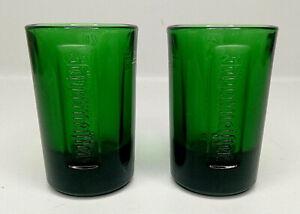 JAGERMEISTER SHOT GLASSES 25CL x2