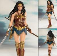 ARTFX+ Justice League Wonder Woman 1/10 PVC Figure Statue Toy Gifts