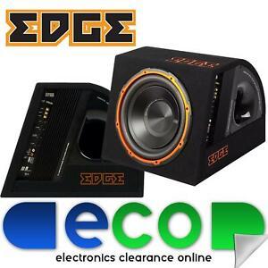 EDB 12A 12 inch 900 Watts Car Active Amplifed Sub Bass Box Enclosure EDB612A