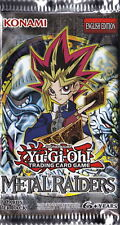 Metal Raiders Booster Pack - New and Sealed - MRD - 9 Cards - YuGiOh