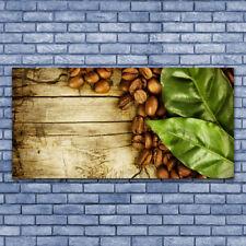 Tableau Impression Image sur Plexiglas® 140x70 Cuisine Café En Grains
