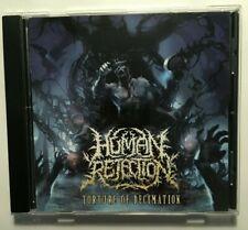 HUMAN REJECTION - Torture Of Decimation CDDeath / GrindNew not sealed