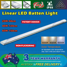 LED Batten Light Tri-proof 20W-60cm  40W-120cm 60W-150cm IP65 Sensor Optional