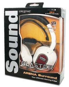 New Creative Labs Sound Blaster Arena Surround USB Gaming Headset