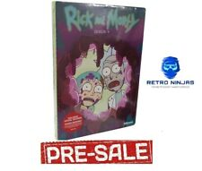 Rick and Morty - Season 4 (DVD)Brand New - Region Free - PRE ORDER 18.12.2020