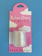 Bead Bazaar Nylon String - 11 pack - each spool length is 12 meters