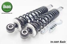 IKON Basix shocks suspension BMW airhead '69-'84 twins R50 60 75 80 90 100