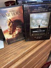War Horse & Saving Private Ryan (Dvd) Steven Spielberg Wwi & Ii Double Feature!