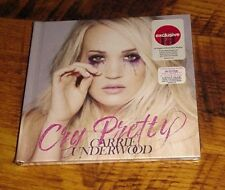 NEW SEALED CARRIE UNDERWOOD CRY PRETTY TARGET EXCLUSIVE CD WITH BOOK FREE SHIP
