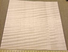 Anigre Figured wood veneer sheet 9 inches x 8 inches raw with no backing Aaa