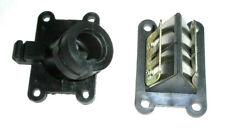 Ansaugstutzen + Membrane für Minarelli Vergaser AM6 Motor Aprilia Yamaha Rieju