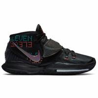 Nike Kyrie 6 Shot Clock BQ4630-006 Triple Black Mens Basketball Shoes Sneakers