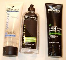 Lot of 3 TreSemme Hair Care Products - Curls, De-frizzing, Volume & Body - NEW