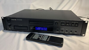 Tascam CD-200i CD Player w/ 30-pin iPod Dock - Rack Mount - With Remote