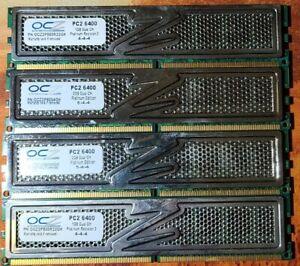 OCZ Technology PC2-6400 6GB (2x2GB)& (2x1GB) DIMM Platinum Edition