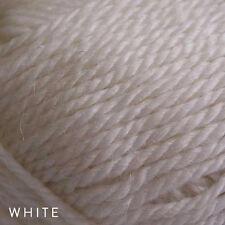 10 X 50g Balls - Patons Jet 12ply Wool Alpaca - White #814 - a BARGAIN