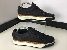 Lanvin Men's Sneakers, Shoes, Uk 5 Eu39, Navy Blue, Brown Crocodile Leather VGC