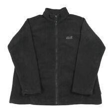 JACK WOLFSKIN Nanuk 200 Thick Fleece Jacket | XXL 2XL | Hiking Walking Full Zip
