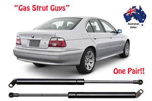 Gas Struts suit BMW 5 Series E39 BOOT 1995 to 2003 Sedan E39HK New PAIR