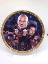"Rare Star Trek ""Best Of Both Worlds"" collector plate Hamilton Episodes 1994"
