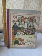 Les PETITS BRAZIDEC A PARIS par JORDIC,C.1920,Color Illustrations,French Cartoon