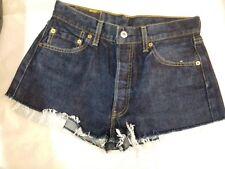 pantaloncini shorts jeans donna Levi's 501 W 30 L 34 taglia 44