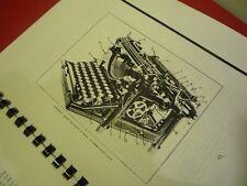 HOW TO REPAIR REBUILD & ADJUST UNDERWOOD TYPEWRITERS 1920 SERVICE MANUAL