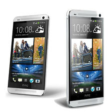 4.7''  Silver HTC ONE M7 Unlocked Quad-Core 2GB RAM -32GB Android Smartphone