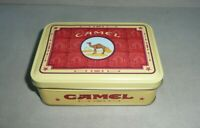 Vintage 1995 Four (4) Camel Cigarette Lighters In Collectors Tin Box NEW