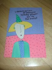 New Humorous Birthday Card