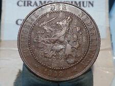 CIRA(68)(21) - PAYS BAS - 2 1/2 CENT - 1903 - RARE QUALITE SUP !