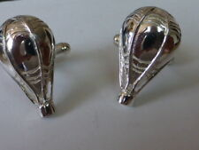 925 sterling silver Hot Air Balloon cufflinks MADE IN ENGLAND