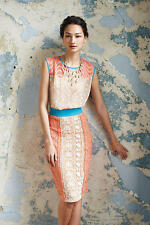 NWT Champagne & Strawberry Ephemere Dress Size 4 6 8 S
