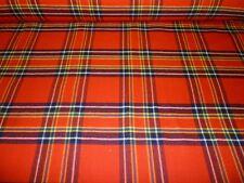 Inverness Tela De Tartán A Cuadros 100% Lana Pura Virgen 295.7ml