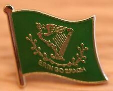 ERIN GO BRAGH Flag Enamel Pin Badge Ireland