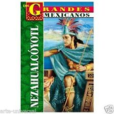 NETZAHUALCOYOTL MEXICO MEXICAN BIOGRAPHY BOOK - TEXT IN SPANISH NEW