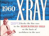 1960 Rambler AMC X-Ray 24-page Original Sales Brochure - Ambassador