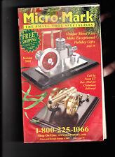 Micro-Mark Small Tool Specialist Holiday 2004 Catalog