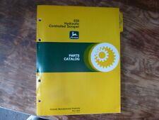 John Deere 650 Hydraulic Controlled Scraper Parts Catalog Manual Book Pc-1533