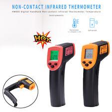 Pistolet à thermomètre infrarouge sans contact à affichage LCD numérique H600