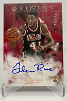 2019-2020 Panini Origins Autographs NBA Glen Rice #'d/25 on card auto Heat